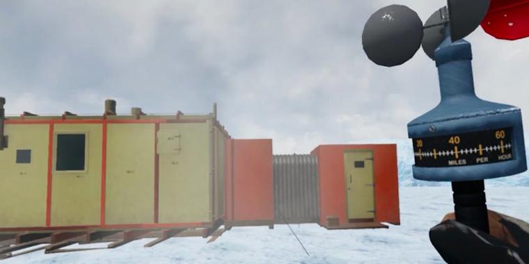 vr опыт путешествия в Антарктиду