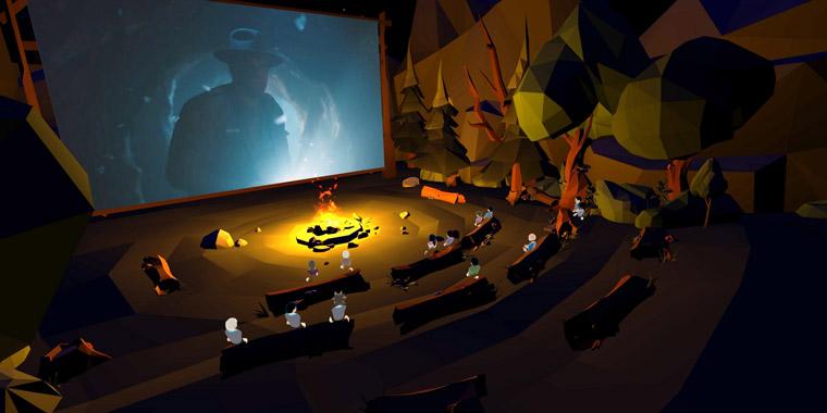 кинотеатр в виртуальной реальности