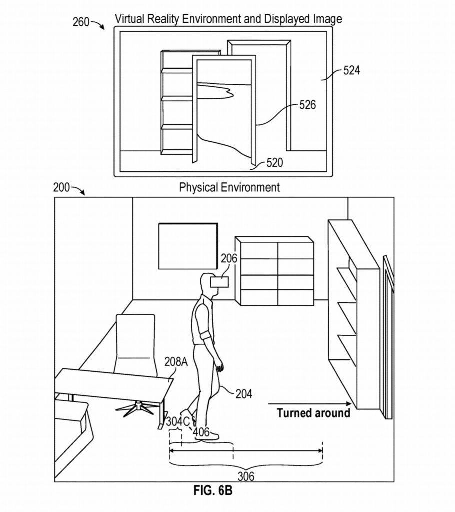Патент для Apple на определение границ виртуальной реальности