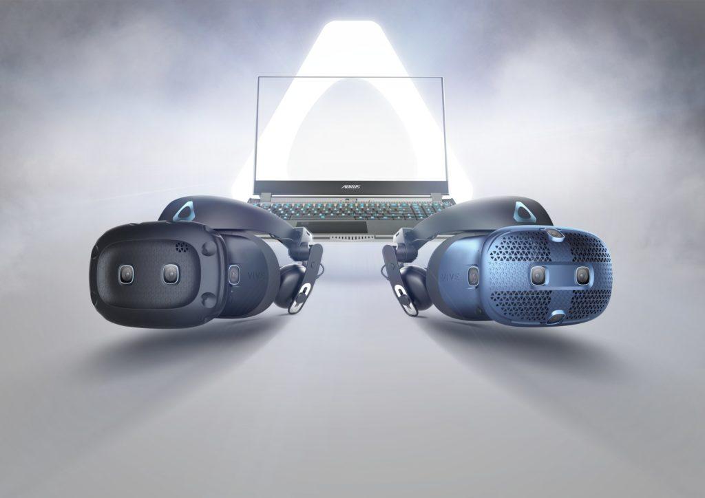 комплект шлемов виртуальной реальности от htc vive