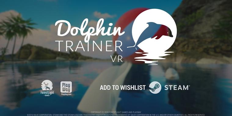 новая vr игра о дельфинах