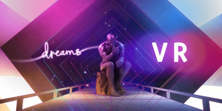 разработка игр виртуальной реальности в Dreams