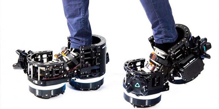 ботинки для перемещения в VR