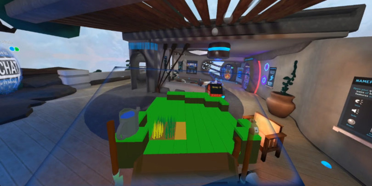 игра оверлей в виртуальной реальности
