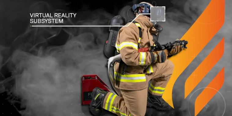 тренажер виртуальной реальности для пожарных