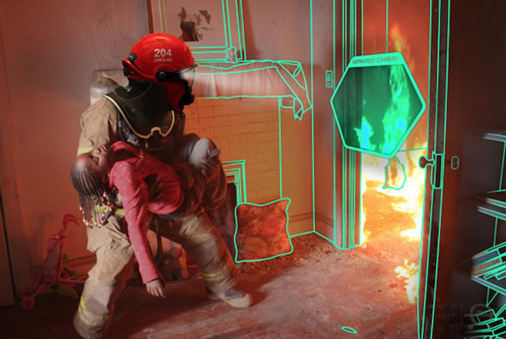 VR тренажер для пожарных