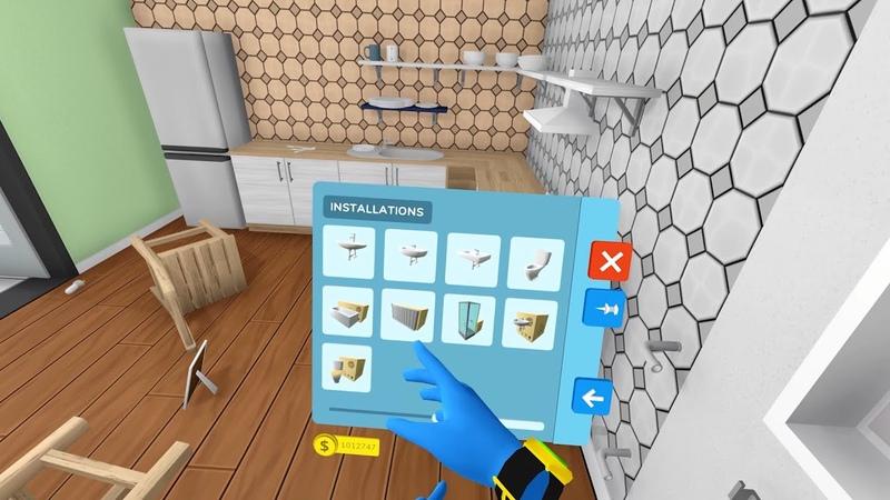 House Flipper ремонт в виртуальной реальности