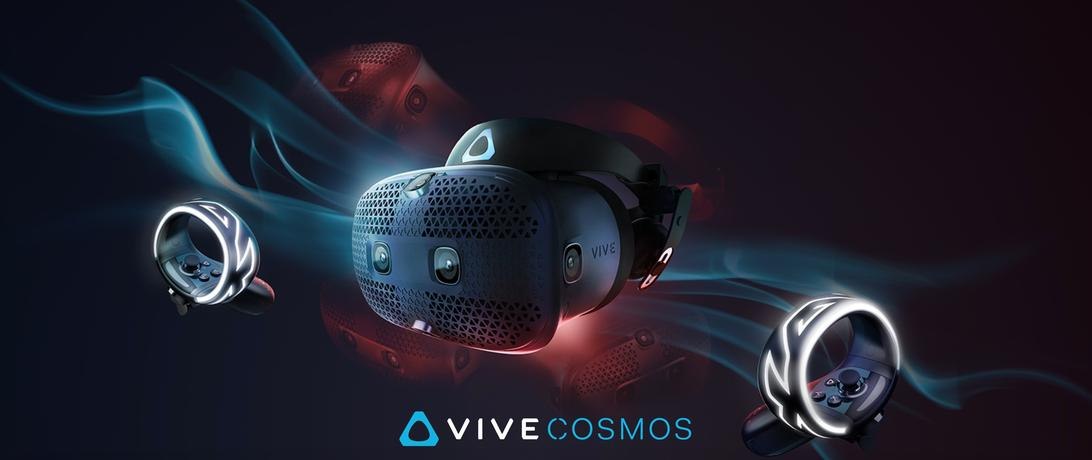 шлем виртуальной реальности vive cosmos