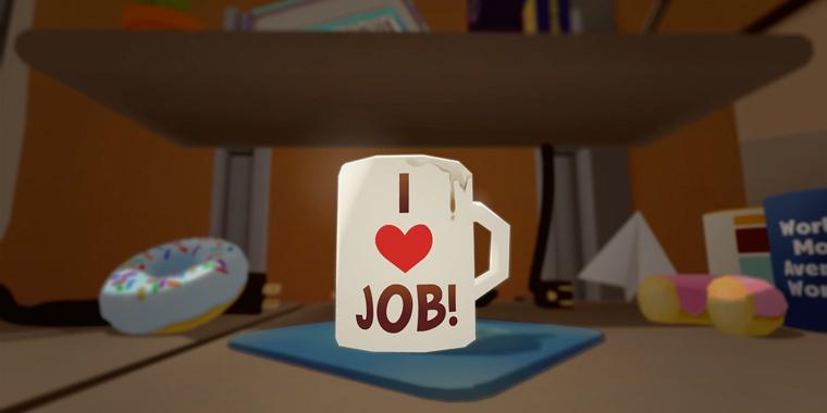 VR игра job simulator симулятор работы