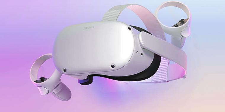 новый виар шлем Oculus Quest