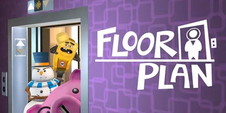 головоломка виртуальной реальности Plan Floor