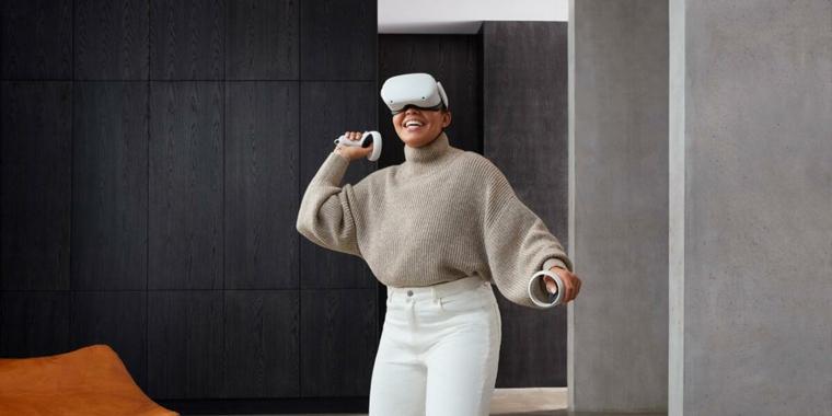 продажи vr шлемв oculus quest 2