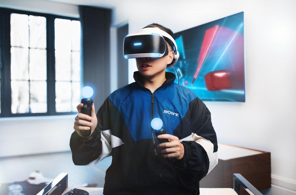 PSVR шлем виртуальной реальности