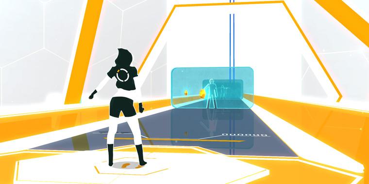 vr игра oh shape в клубе виртуальной реальности