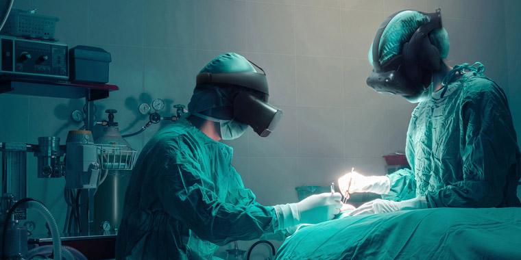 обучение хирургов в VR