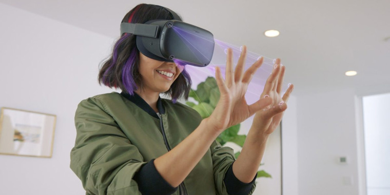отслеживание рук в виртуальной реальности