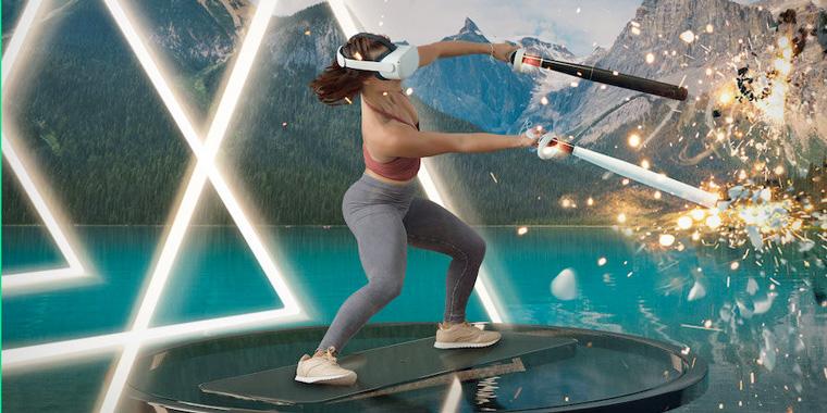 фитнес в виртуальной реальности