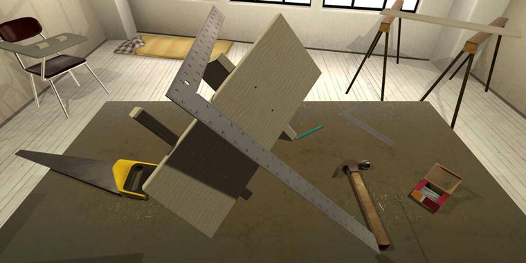 vrshop симулятор деревообработки в VR