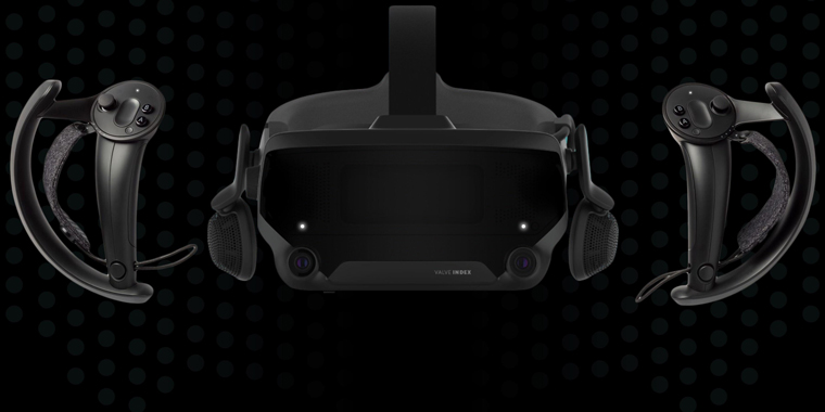 беспроводной VR шлем Valve Index